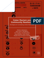 (Palgrave Hate Studies) Andrew Jakubowicz Et Al. - Cyber Racism and Community Resilience_ Strategies for Combating Online Race Hate-Palgrave Macmillan (2017)