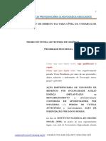 Federal B-31 Modelo Definitivo de Petição Benefício Por Incapacidade -A Fevereiro 2015 -b