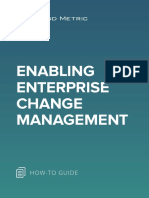 Enabling Enterprise Change Management