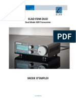 ELAD FDM-DUO - User Manual v2.1 FR - Mode d'Emploi