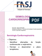 Semiologia Cardiorrespiratória