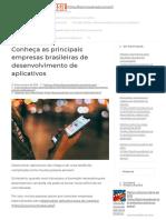 Conheça as Principais Empresas Brasileiras de Desenvolvimento de Aplicativos