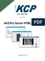 AKCPro Server HTML Manual