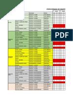 Cronograma de Mantenimiento Vehiculos