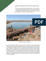 Lago Titicaca Contaminacion