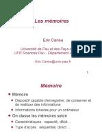 Cours 5 Memoire