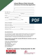 Nomination Form SOA