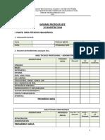 23.-Informe Prof. Jefe