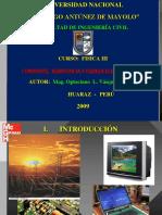 Corriente, Resistencia y Fuerza Electromotriz Fic 2010