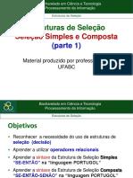 3.Parte1_Estrutura de Selecao Simples e Composta.pdf
