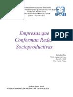 Redes Productiva en Venezuela