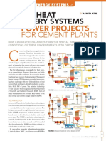 WHRS and PP for Cement Plants - Todays Boiler Spring 2014