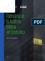 Panorama de La Auditoría Interna en Costa Rica 2019