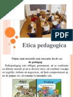 etica pedagogica introducere