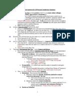 Civil Procedure Outline Distilled - Final