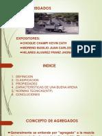 TECNOLOGIA DE MATERIALES-AGREGADOS