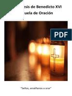 Benedicto XVI - Escuela de Oración