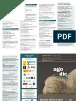 Agenda Utrecht Instituto Cervantes Ago Dic 2019