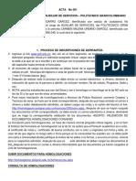 Acta No 001(1) Homologacion Convenio