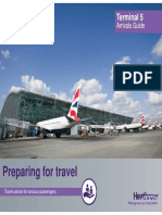 Information for anxious travellers