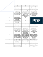 final assessment rubric
