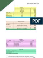 Presupuesto Proyecto Negocios Online