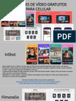Editores de vídeo para smarthphones