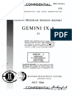 Gemini Program Mission Report Gemini Ix-A