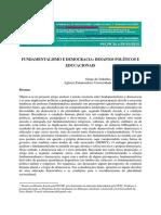 Fundamentalismo e Democracia - Desafios Políticos e Educacionais