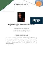 Miguel Beltrán pdf