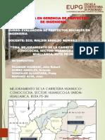 Pip Mejoramiento de La Carretera Huanuco-conococha