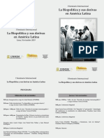 LA BIOPOLÍTICA Y SUS DERIVAS EN AMÉRICA LATINA