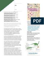 Inventario Ilustrado de Dinosaurios C