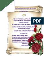 Informe de Prof Amador. 2019. Chachahuasi, Etc.