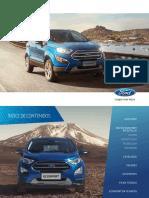 Ford Ecosport Catálogo