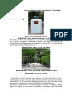 2.2 Trabajo de Los Monumentos Investigados en Neiva