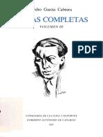 Obras_completas_3 Pedro García Cabrera