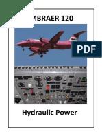 Embraer 120-Hydraulic Power