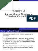 Loi Des Grands Nombres Et Theoreme Central Limite
