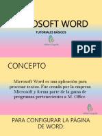 CONTENIDOS DE MICROSOFT WORD