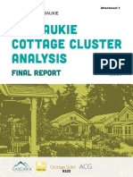 Milwaukie Cottage Cluster Analysis Final Report June 2019