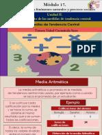 Medias de Tendencia Central/Módulo 17