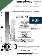 Gemini XI Mission Report