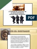 La Funcion de La Policia Ministerial