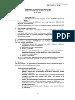 3. Reglamento EFSRT III a IV Ciclo