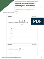 Actividad de Puntos Evaluables - Escenario 2 Matematicas