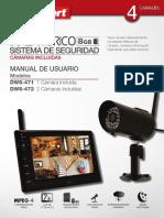 Sistema de Video DWS 472 First Alert Monitor Una Camara