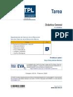TAREA DE DIDACTICA GENERAL UTPL