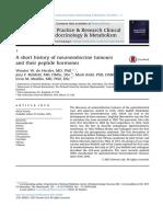 historia de la neuroendocrinologia de tumores