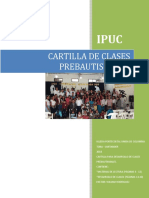 Cartilla Bautismal 2018
